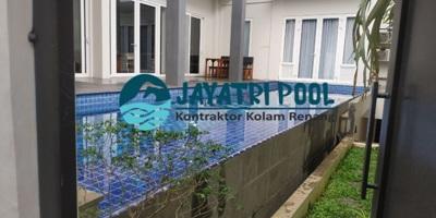 kolam renang yang dibuat oleh jaya tri pool