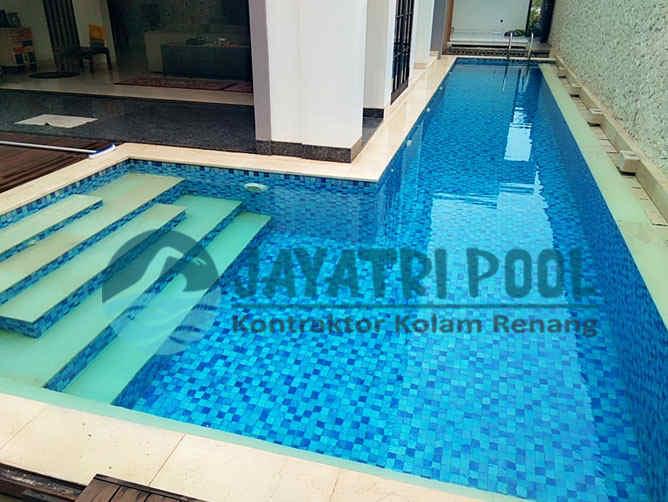 kolam renang klien di pasuruan yang dibuat oleh jaya tri pool